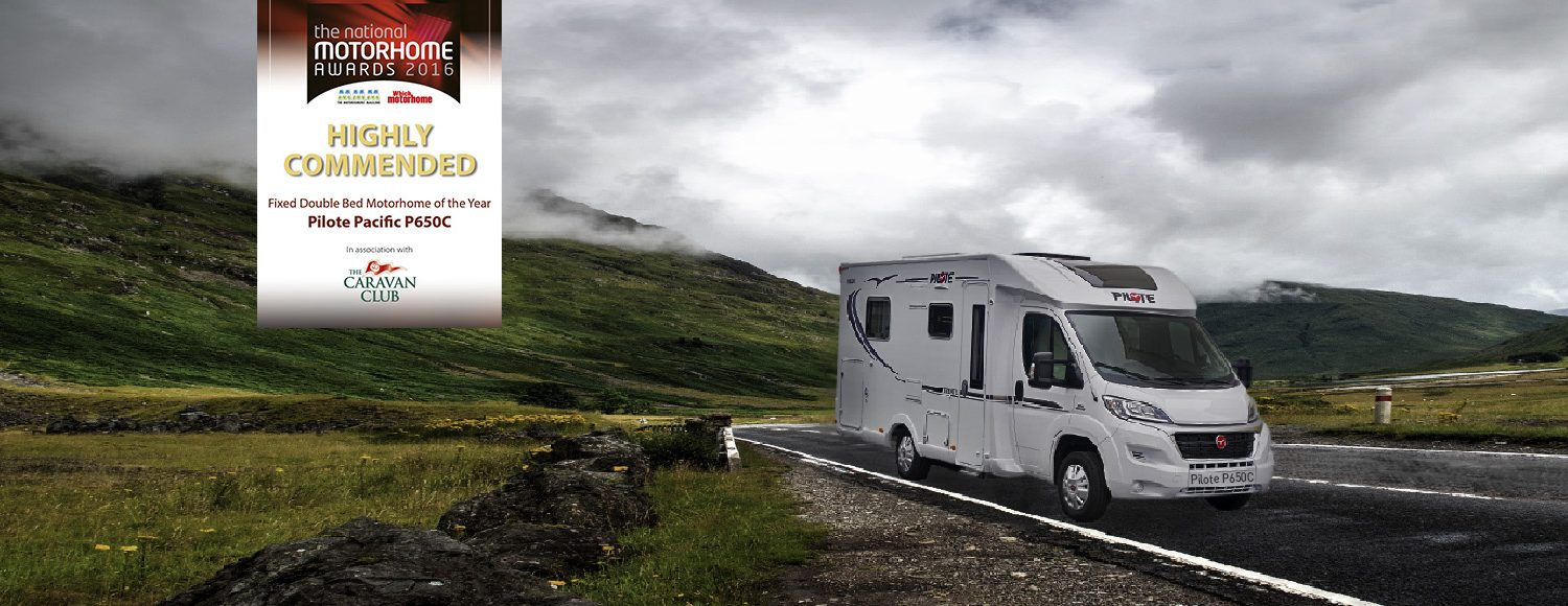 Motorhome of the year Pilote Pacific P650C