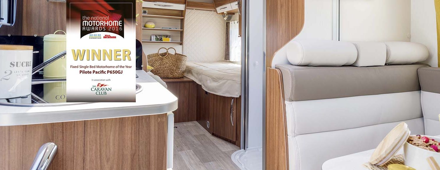 Motorhome of the year Pilote Pacific P650GJ